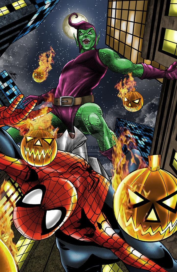 House of m green goblin - Green_goblin_vs__spider_man_by_overground_eic D500g8i Jpg 722 1107 Superhero Picturesgreen Goblinspider