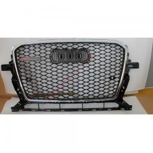Cool Audi: Awesome Audi: Audi Q5 Upgrade Rsq5 Look Replacement Front Grill-Silver...  AUDI ...  Cars 2017 Check more at http://24car.top/2017/2017/07/08/audi-awesome-audi-audi-q5-upgrade-rsq5-look-replacement-front-grill-silver-audi-cars-2017/