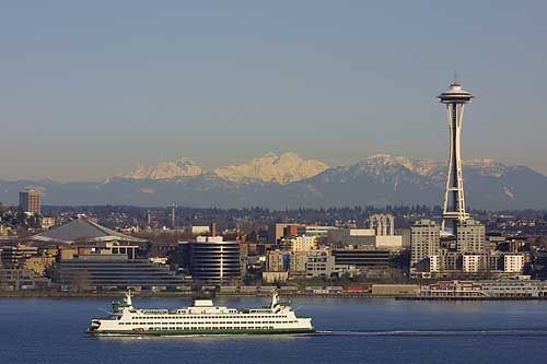 Seattle Wa; I lived in nearby Bremerton and before that Silverdale while my Dad was stationed at Puget Sound Naval Shipyard. I loved riding the Seattle ferry.