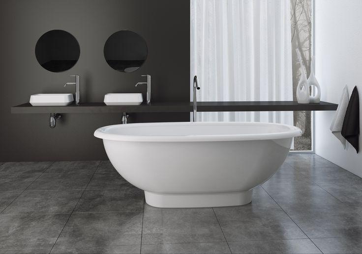 a bathtub RODE 1800  #marmite #marmiteSA #bathroom #bathroomdesign #simpledesign #interiordesign #InterieurDesign #schlichtesdesign #modernesdesign #designmoderno