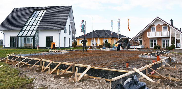 6. KW 2016 Vorbereitung zur Herstellung der Bodenplatte #musterhaus #musterhausausstellung #kampa #haus #bauen #immobilien #ungerpark #bautagebuch #architektur #hausbau