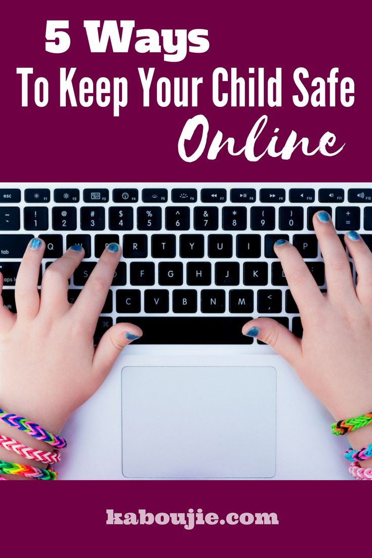 5 Ways To Keep Your Child Safe Online  In this age of technology it is going to be impossible to keep your kids off the internet and away for devices, the best we can do is ensure that they are safe. Here are 5 ways to keep your child safe online.    #guestpost #kidssafeonline #onlinesafety