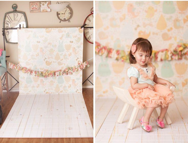 10'x6' Photography Backdrop Stand | Jane- bubblegum backdrops