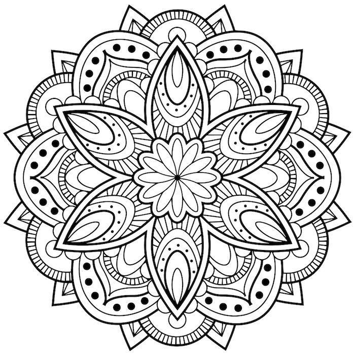 1001 Ideen Und Bilder Zum Thema Mandala Blumen Mandala Malvorlagen Mandalas Zum Ausmalen Malvorlagen