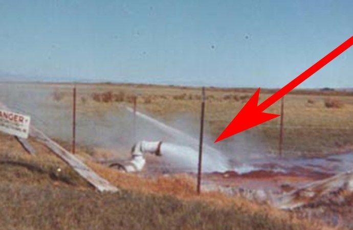 """Várias pessoas tentaram comprar sua propriedade para disponibilizá-la aos turistas. Parece ser algo de um outro planeta, ou algo de filmes de ficção científica. Mas esta """"obra de arte"""" é real. O fenômeno é chamado """"Fly Geyser"""" e este foi formado por um acidente quando um proprietário de uma fazenda estava perfurando para encontrar água no deserto do estado de Nevada, nos Estados Unidos. Tudo começou no início do Século XX, quando um fazendeiro furou um poço para aumentar a qualidade da sua…"""