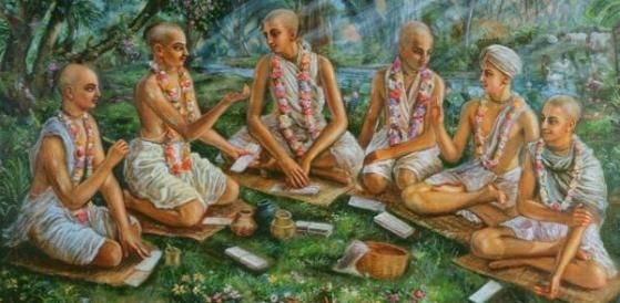 Shad Goswamy Ashtakam  click here to get full song: http://www.vaishnavsongs.com/shad-goswamy-ashtakam/