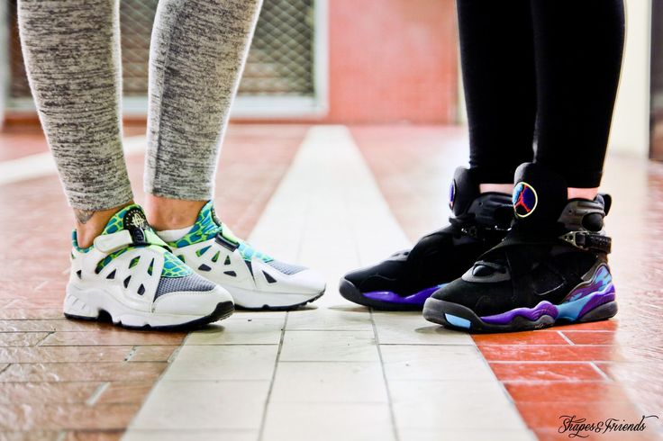 Nike Air Huarache Plus Vs Nike Air Jordan VIII Aqua