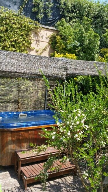 Relax in the garden... Jacuzzi Bath   #relax #jacuzzi