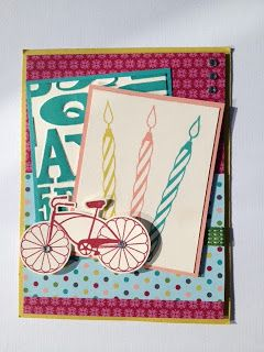 Stampin UP! Cycle Celebration