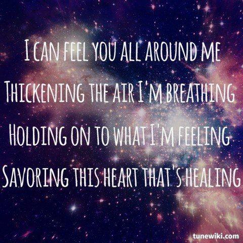 -- #LyricArt for All Around Me by Flyleaf