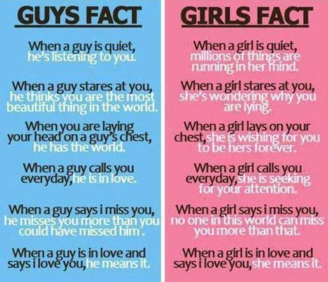 I Love You More Than Quotes: Boys Vs Girls, Boys
