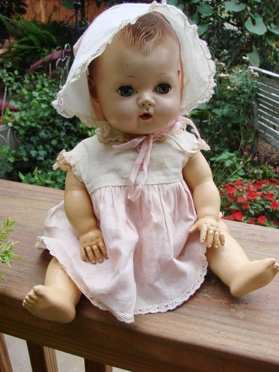 Tiny Tears Dolly...I owned one back in the day.