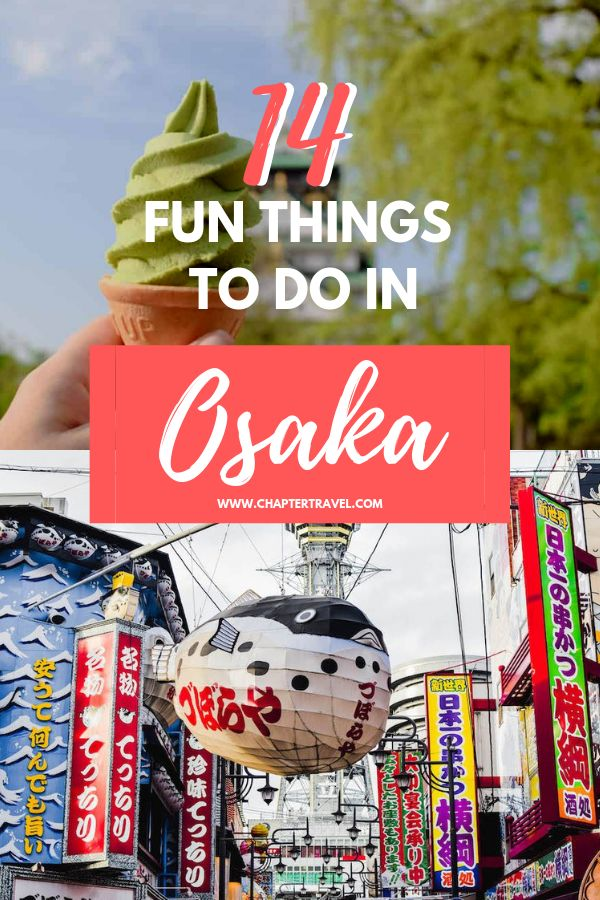 Fun things to do in Osaka