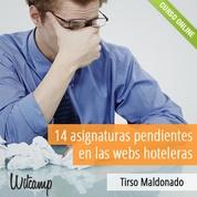 Asignaturas pendientes en las webs hoteleras y webs turísticas $32