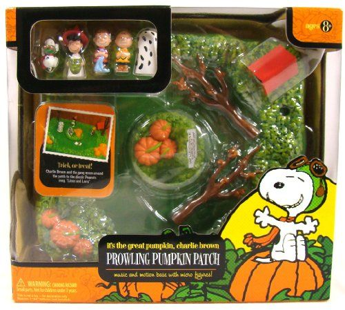 Great Pumpkin Charlie Brown Music & Motion Pumpkin Patch @ niftywarehouse.com #NiftyWarehouse #Peanuts #CharlieBrown #Comics #Gifts #Products