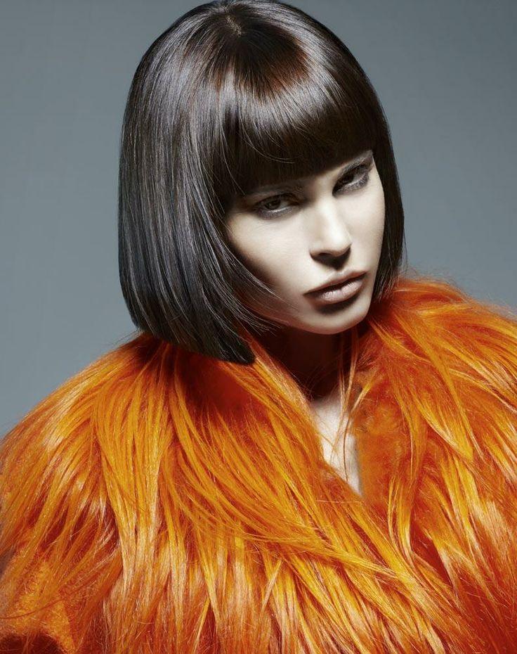 Hair: Loft Parrucchieri Photos: Fulvio Maiani Make up: Silvia D Styling: Simone Products: Framesi
