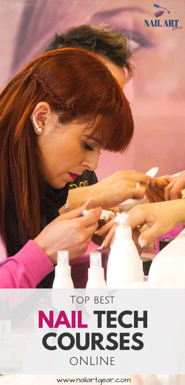 So werden Sie Nageltechniker ohne zur Schule zu gehen #nail #school … – Nagelpflege