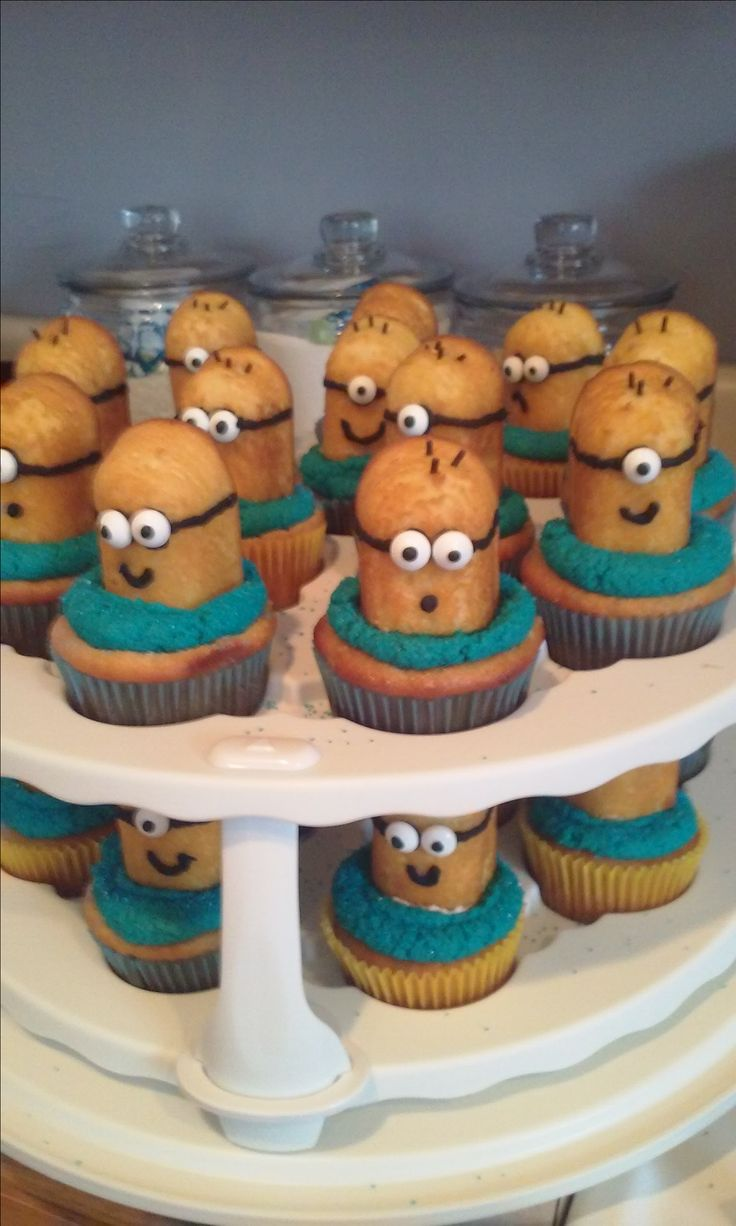 Twinkie minions Alan's birthday