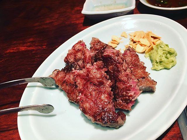 昨日はお休み頂き、肉どうし。  ここ神、祥平さんと戎さん、がやるからヤバイんやろなーって思ってたけど、遥かに凌駕してきました!  韓国焼肉!キムチ辛!旨っ!イカフェ旨っ!肉とタレが友達なってるタレは酸味あってうますぎ!  夢中で食べすぎて、写真これだけ!  大満足最高!  勉強なりました、ありがとうございました!  #北浜#肉どうし#instagood#dinner#肉#beaf#韓国料理#美味い#バカウマ商品#最高