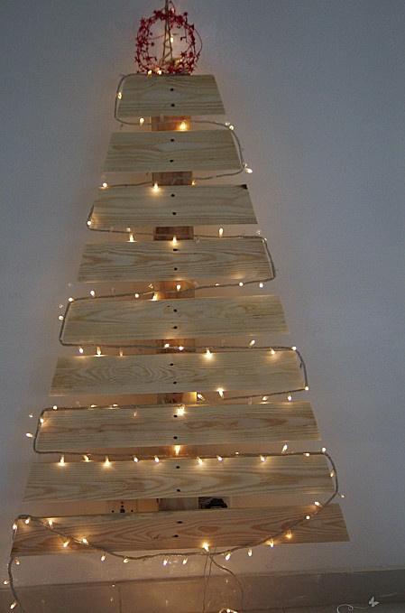 Sapin de Noel en Palette - DIY