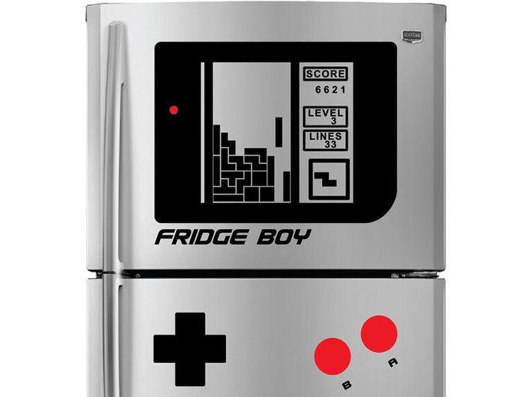 Transformer son frigo en iPod ou GameBoy #Deco #Geek