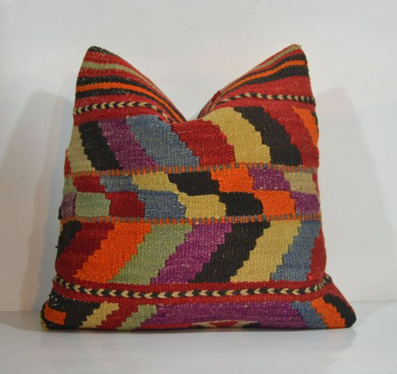 Hey, I found this really awesome Etsy listing at https://www.etsy.com/listing/177003027/kilim-pillow-decorative-pillows-turkish