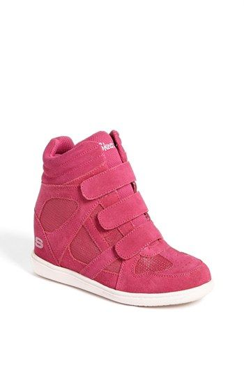 SKECHERS 'Double Trouble' Wedge Sneaker (Toddler, Little Kid & Big Kid) available at #Nordstrom