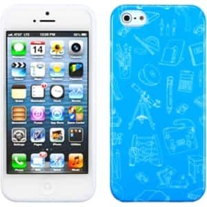Insten School Life/ Candy Skin Phone Case Cover for Apple iPhone 5