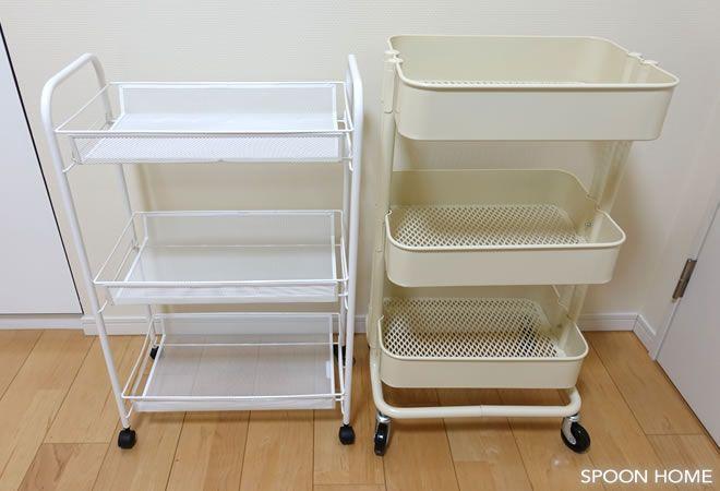 Ikeaのhornavan ホールナヴァンワゴン 収納アイデアや使い方をブログレポート 収納 アイデア 収納 お風呂場 収納