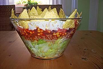 Тако салат из фарша