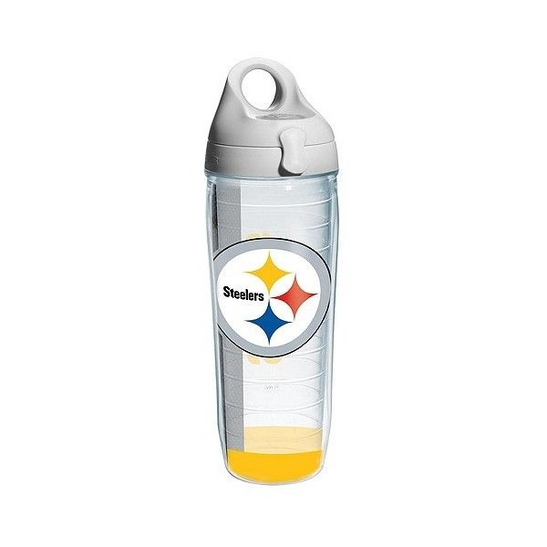 Pittsburgh Steelers Tervis Water Bottle ($30) ❤ Liked On Polyvore Featuring  Clear, Kitchen