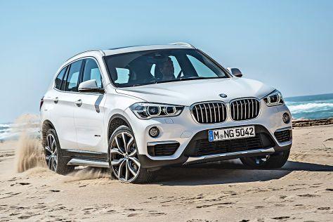 BMW X1 Erlkönig