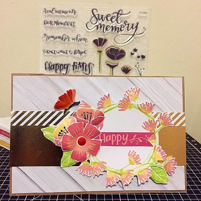 Awesome Card Making Ideas Close To My Heart Part - 8: Close To My Heart Celebrate National Scrapbooking Month With CTMH Happy  Times Paper (CC1063). Heart CardsFlower ...
