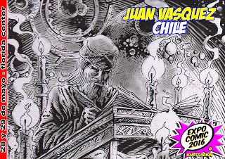 EXPO-COMIC Y MULTIMEDIA: JUAN VASQUEZ ESTARÁ EN EXPO-COMIC 2016 ILUSTRACIÓN...