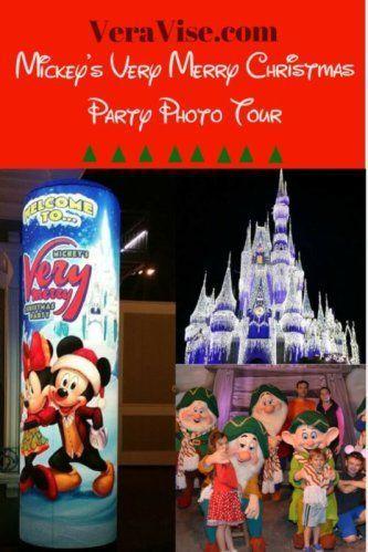 Mickey\u0027s Very Merry Christmas Party A Photo Tour Disney Vacation