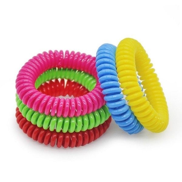Mosquito repellent natural oil bracelet home for yard