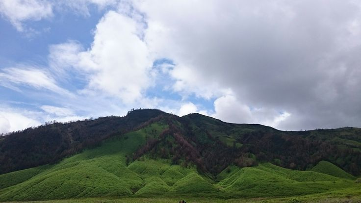 Teletubbies Hill, East Java, Indonesia