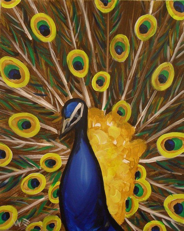17 best images about illustration peacocks on pinterest for Painting with a twist san diego