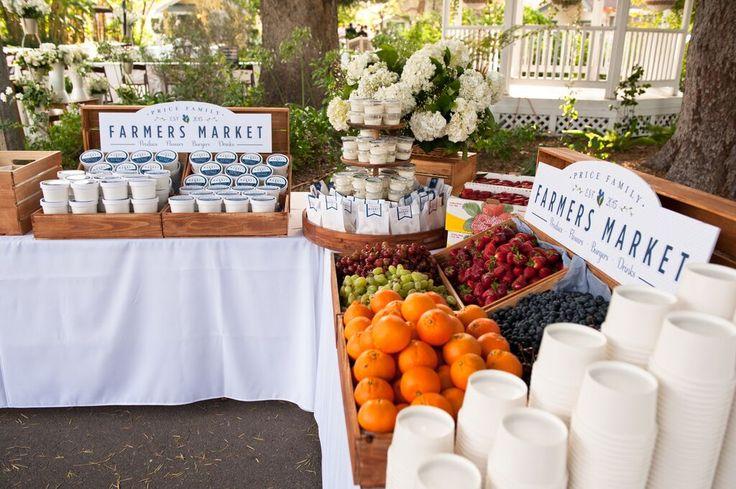 Farmers Market Wedding