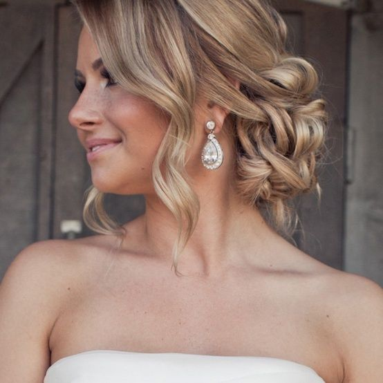 Romantic wedding updo - My wedding ideas