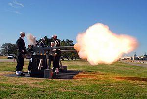 21-gun salute - Wikipedia, the free encyclopedia