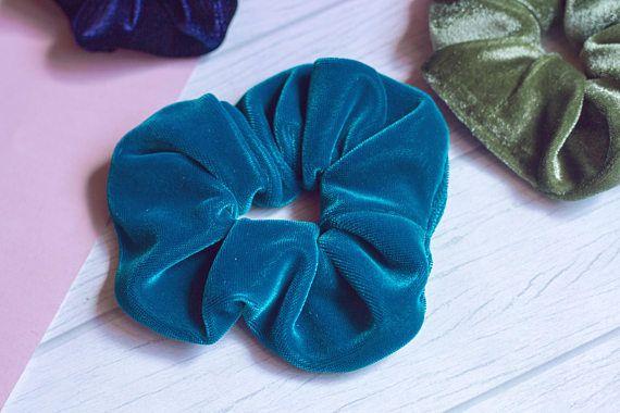 Velvet hair scrunchie - scrunch - easy shop - coletero