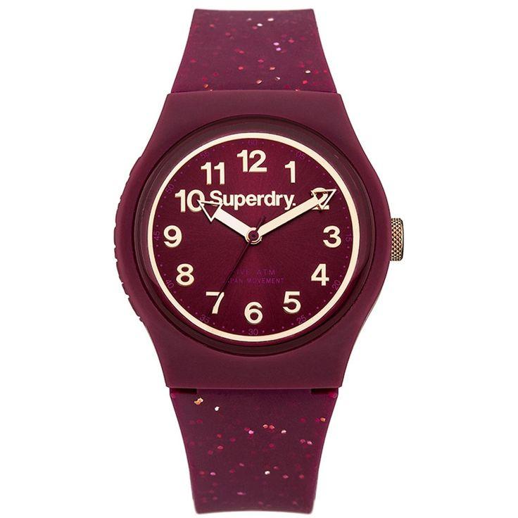 superdry bayan saat taşlı
