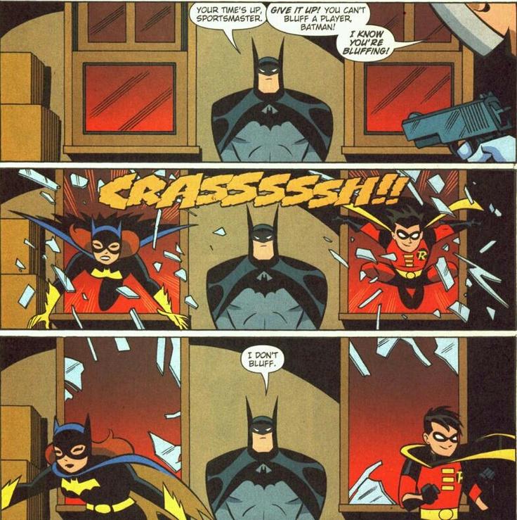 Batman doesn't bluff.