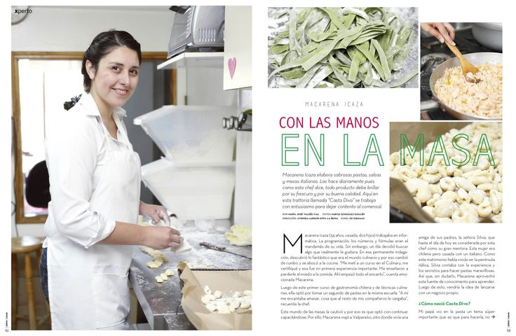 Revista Platos&Copas // Xperto: Con las manos en la masa