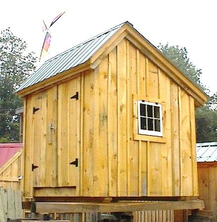 Our Saltbox Shed Especially This 8 39 X 8 39 Size Is A