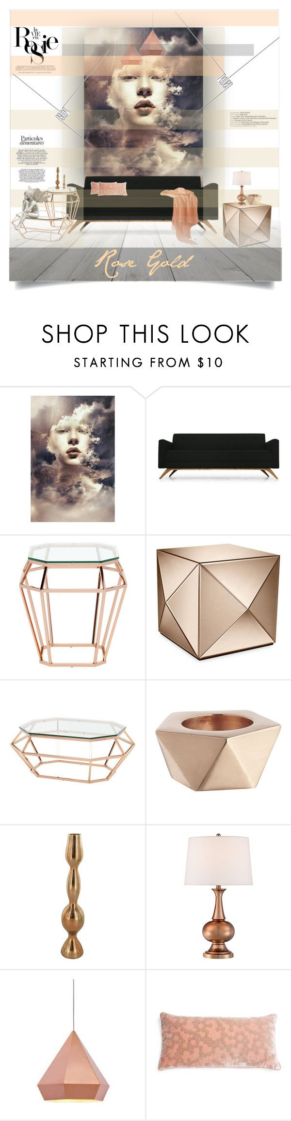 """""""Blinds"""" by lulunam on Polyvore featuring interior, interiors, interior design, home, home decor, interior decorating, Joybird Furniture, Whiteley, Nuevo and CB2"""