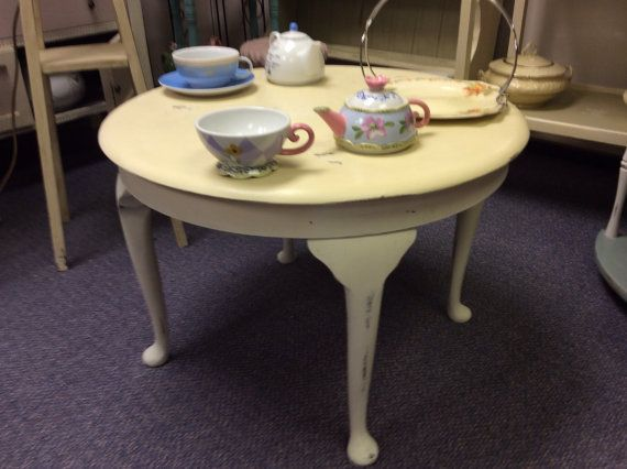 20 Best Images About Shabby Chic Coffee Center Tables On Pinterest Tea Cart Cream And Legs