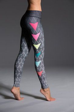Yoga Pants Graphic Legging Side Pop:  | Shop @ FitnessApparelExpress.com