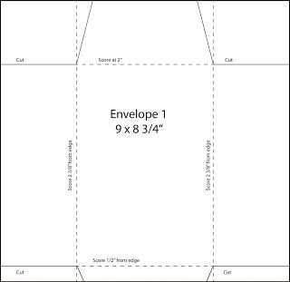 how to make envelope from a4